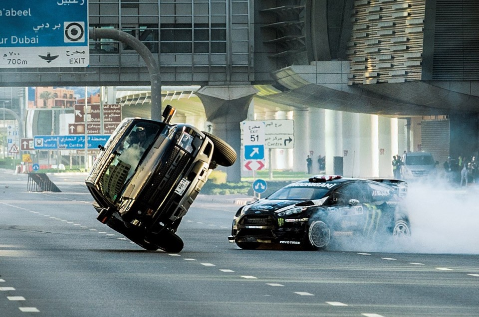 Ken Block Does the Ultimate Playground; Dubai